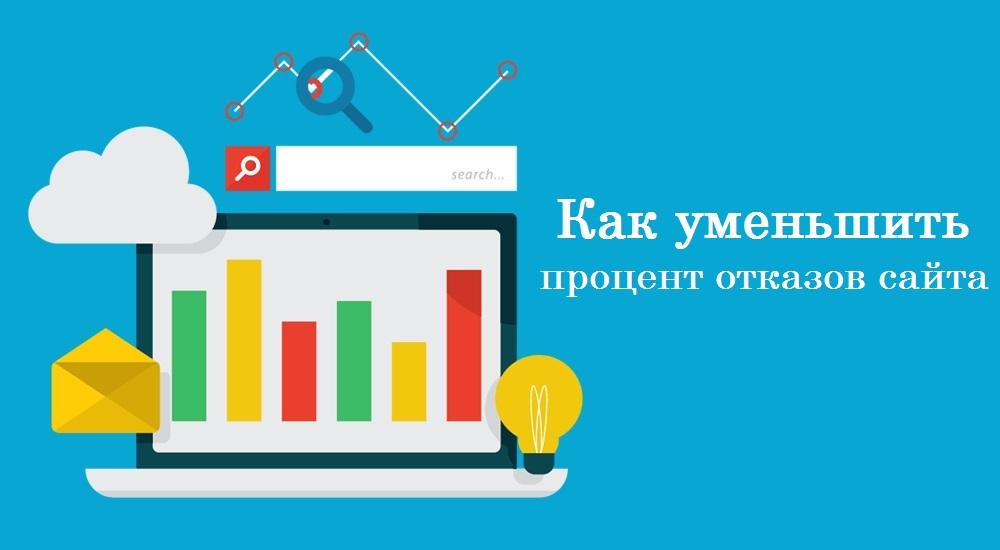 основные способы снизить процент отказов на сайте