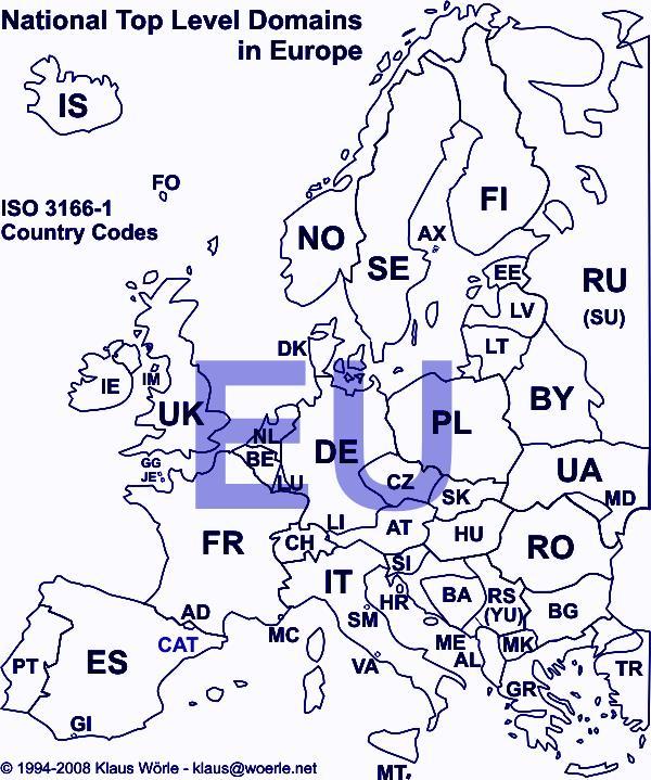 Продвижение сайта под несколько европейских регионов