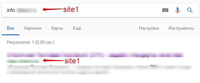 Ручная проверка в Google также подтвердила смену главного зеркала