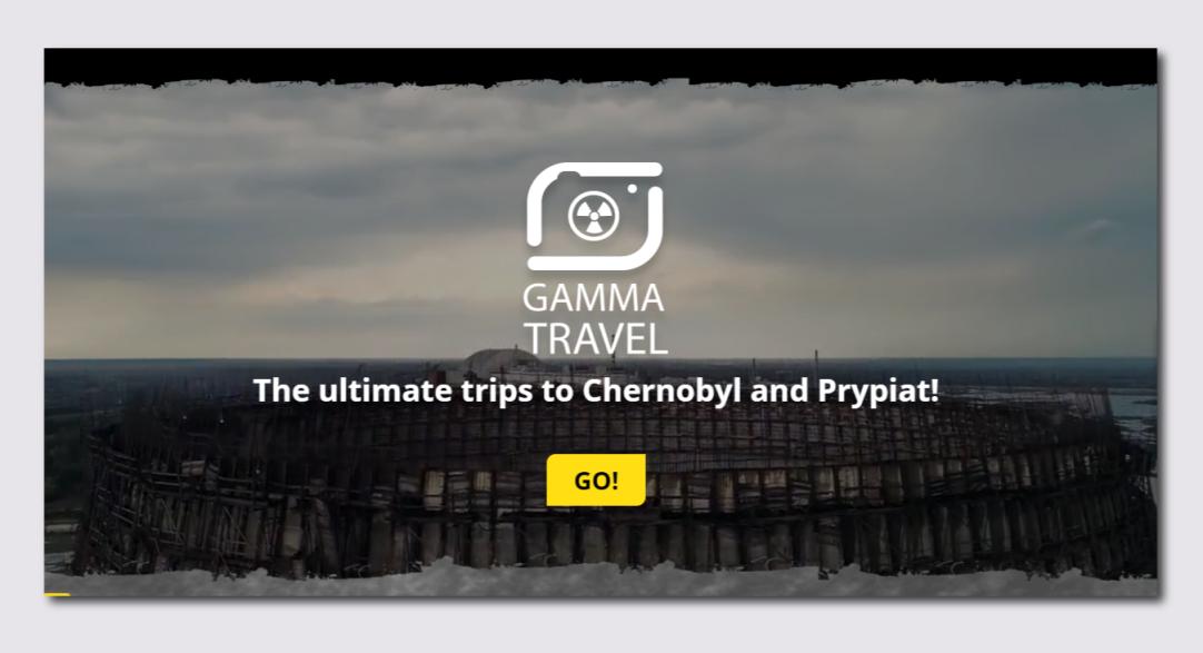 общая информация по проекту - Gamma Travel