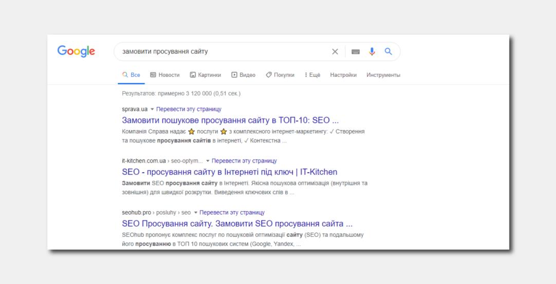 алгоритмы Google регулярно обновляются