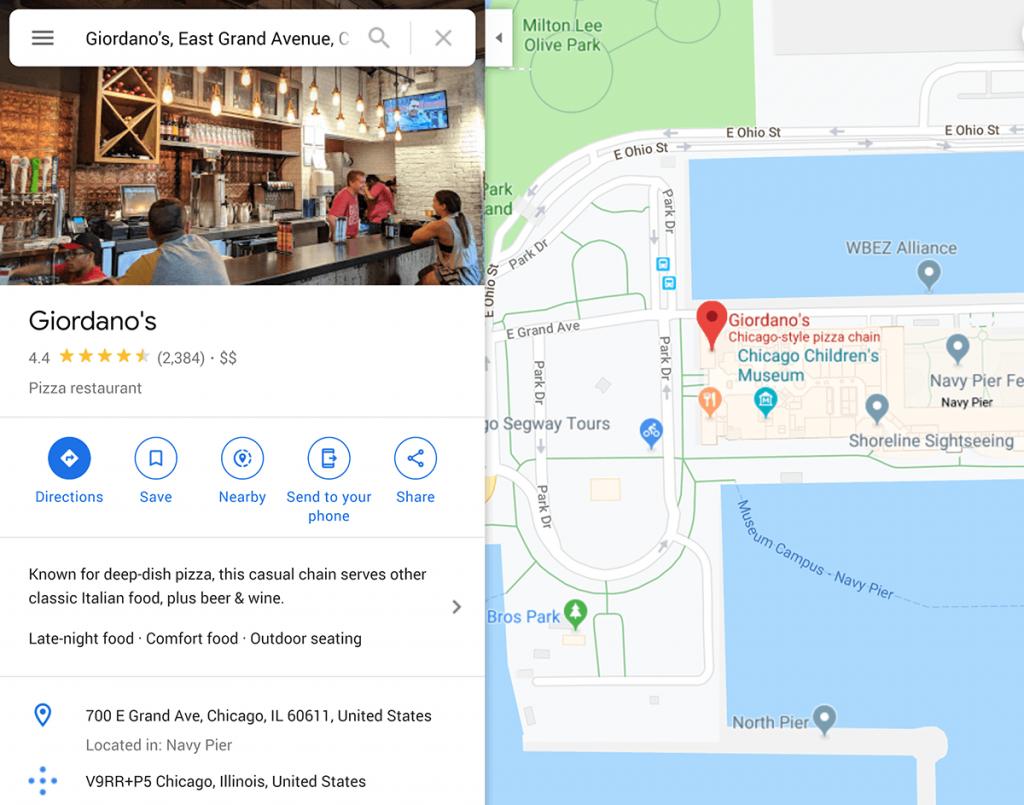 Добавьте карту Google на свою страницу
