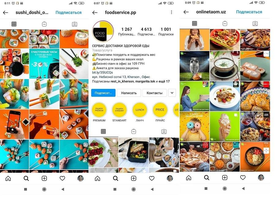 Раскрутка сервиса доставки еды через социальные сети