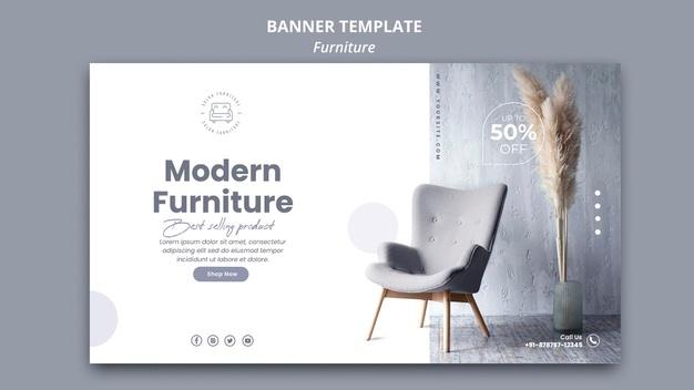 Пример рекламы мебельного магазина в брошюре