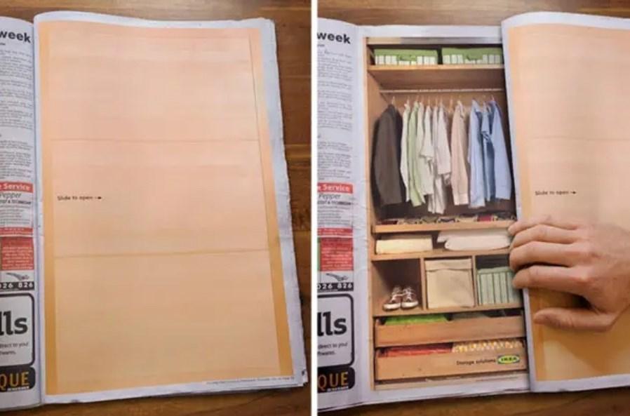 Реклама для мебельного магазина в газетах