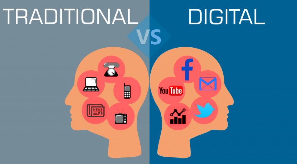 в чем отличие цифрового и интернет-маркетинга